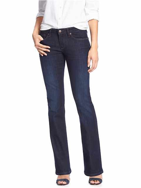 Dark Slim Boot Jean