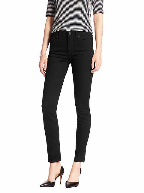 Black High Rise Skinny Jean