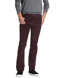 Straight-Fit Corduroy Pant