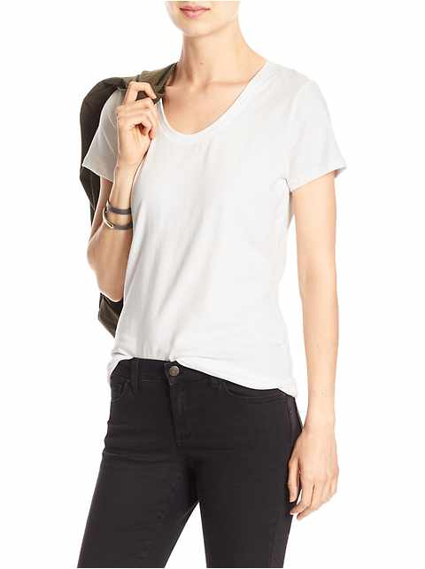 Timeless Scoop-Neck T Shirt