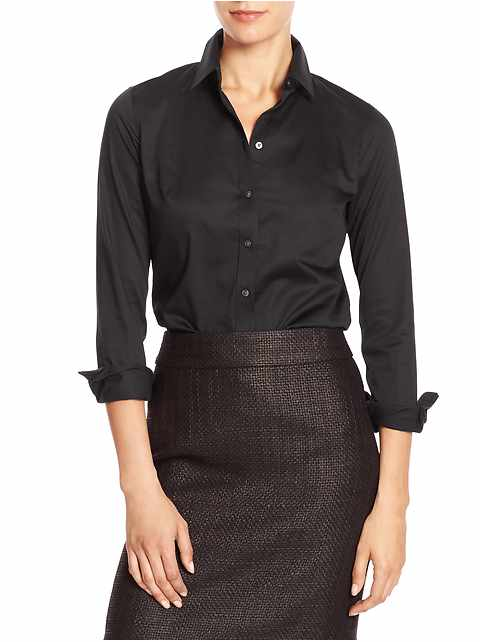Petite Tailored Non-Iron Shirt