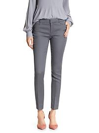 Factory Jacquard Sloan-Fit Slim Ankle Pant