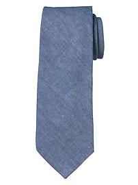 Chambray Classic Tie
