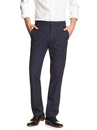 Kentfield-Fit Navy Stripe Pant