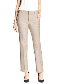 Jackson-Fit Flax Slim Straight Suit Pant