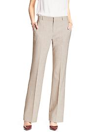 Jackson-Fit Flax Tailored Suit Trouser