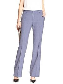 Martin-Fit Chambray Tailored Suit Trouser
