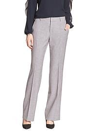 Martin-Fit Grey Melange Tailored Suit Trouser