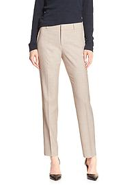 Reegan-Fit Flax Slim Straight Suit Pant