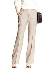 Martin-Fit Flax Tailored Suit Trouser