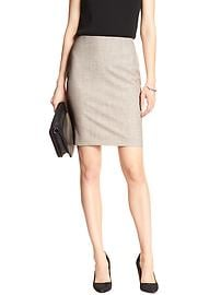 Flax Pencil Skirt