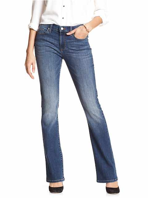 Medium Slim Boot Jean