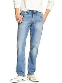 Athletic Fit Stretch Light Wash Jean