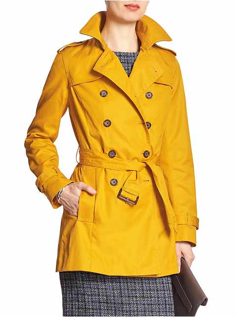 Pop Color Trench