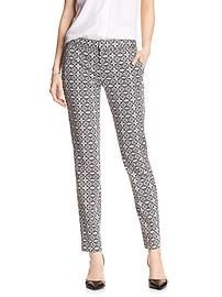 Print Reegan-Fit Slim Straight Pant