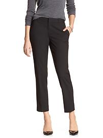 Hampton-Fit Classic Tailored Crop Suit Pant