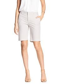 Tailored Seersucker Bermuda Short