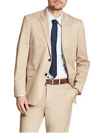 Standard-Fit Stretch Chino Blazer