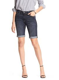 Dark Denim Bermuda Short