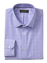 Classic-Fit Non-Iron Blue Shirt