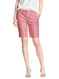 Tailored Print Bermuda Short