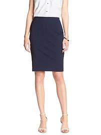 Clipped Dot Pencil Skirt