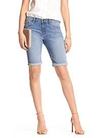 Light Denim Bermuda Short
