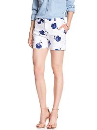 Print Tailored Pique Short