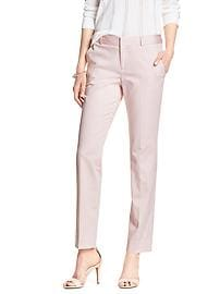 Reegan-Fit Sateen Slim Straight Suit Pant