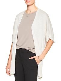 Open-Front Summer Cape