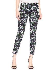 Factory Print Sloan-Fit Slim Ankle Pant