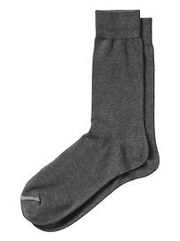 Solid Basic Jersey Sock