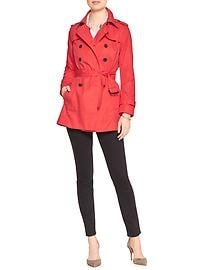 Pop Color Trench Coat