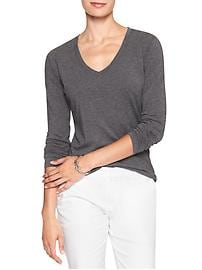 Timeless Long Sleeve V-Neck Tee