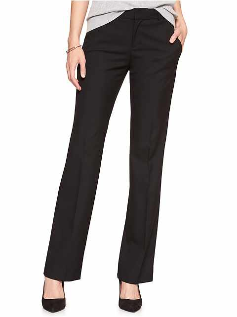 Petite Machine Washable Logan Classic Black Tailored Trouser