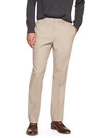 Non-Iron Slim-Fit Khaki Dress Pant