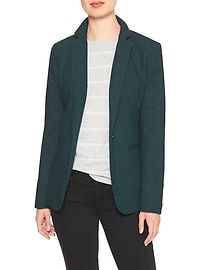 Luxe Teal Blazer