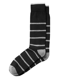 Striped Performance Sock
