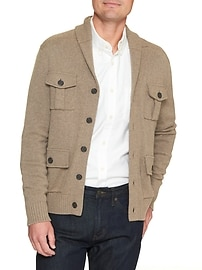 Four Pocket Shawl Collar Jacket