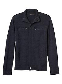 Sweater Zip-Up Jacket