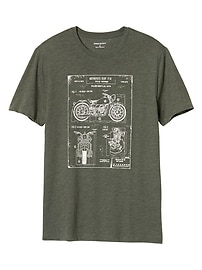 Moto Diagram Graphic Tee