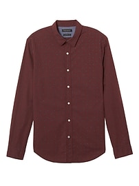 Camden Standard-Fit Custom-Wash Print Shirt