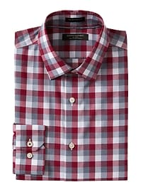 Camden Standard-Fit Non-Iron Stretch Check Shirt