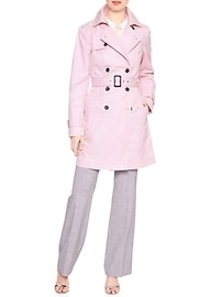 Pop Color Classic Trench Coat