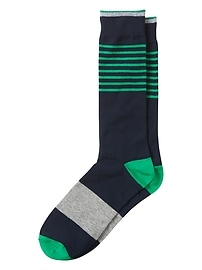 St. Patrick Block Stripe Sock