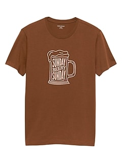 Sunday Beer Graphic Tee