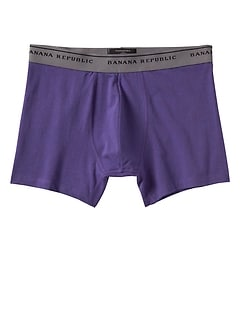 Heather Purple Boxer Brief