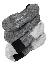Heather Grey No-Show Sock (2-Pack)
