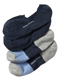 Heather Blue No-Show Sock (2-Pack)