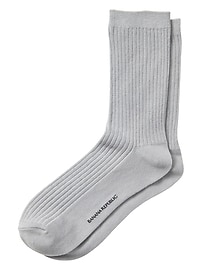 Ribbed Trouser Sock